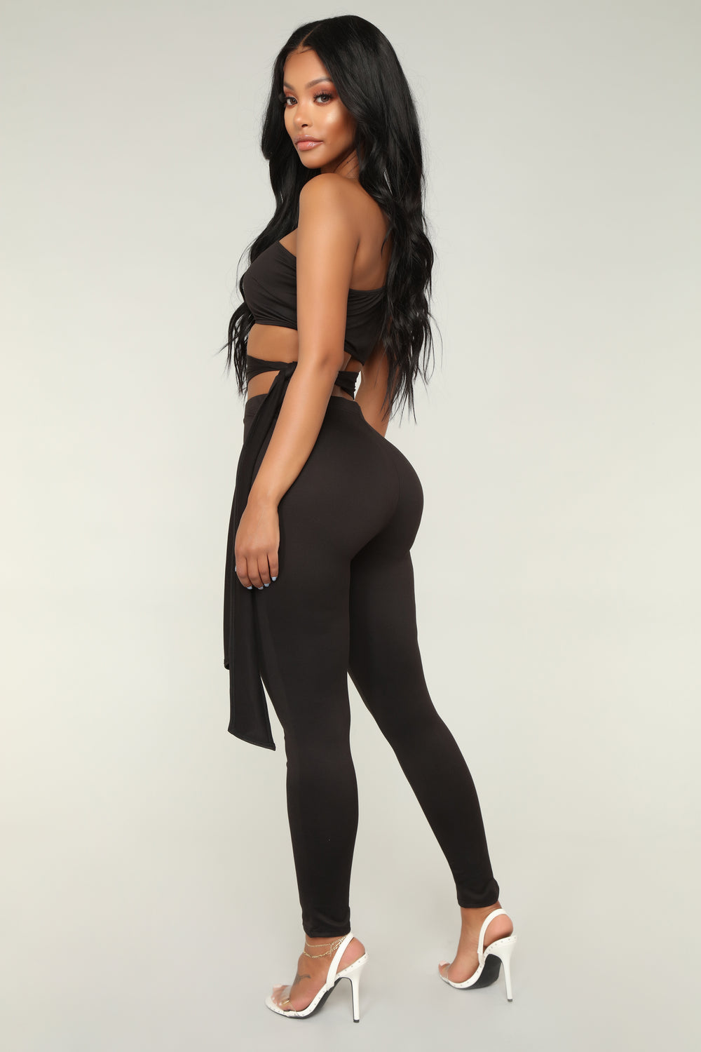No Privacy Jumpsuit - Black
