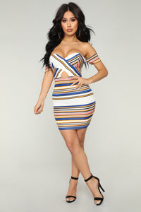 Sacha Dress - Royal
