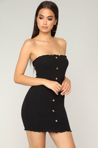 Joselyn Tube Dress - Black