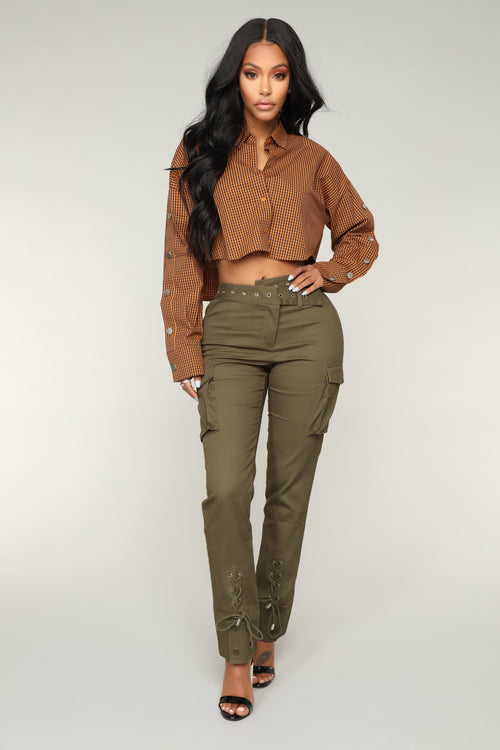 The Updated Classic Cargo Pants - Olive