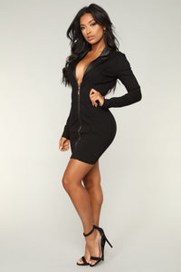 Get It Done Dress - Black