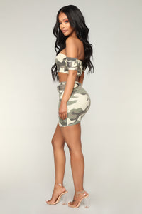 G.I. Janelle Camo Set - Light Olive