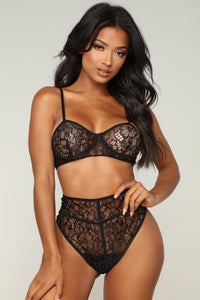 Love Lies Set - Black