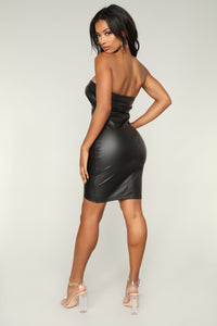 Greaser Midi Dress - Black
