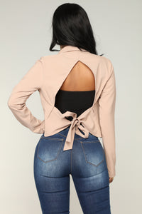 Dream House Darling Jacket - Taupe