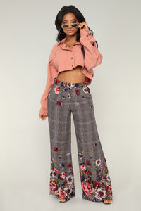 Beyond the Border Print Pants - Multi
