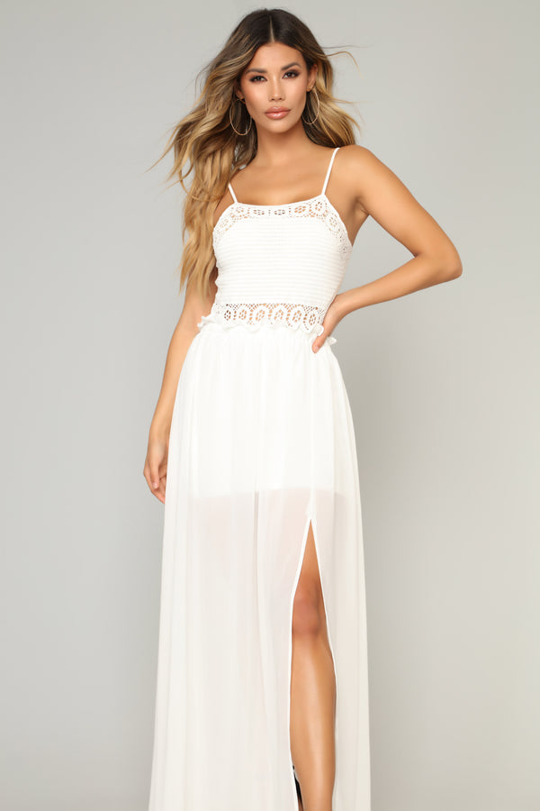 b547a998559 Sounds Of Summer Maxi Dress - Off White