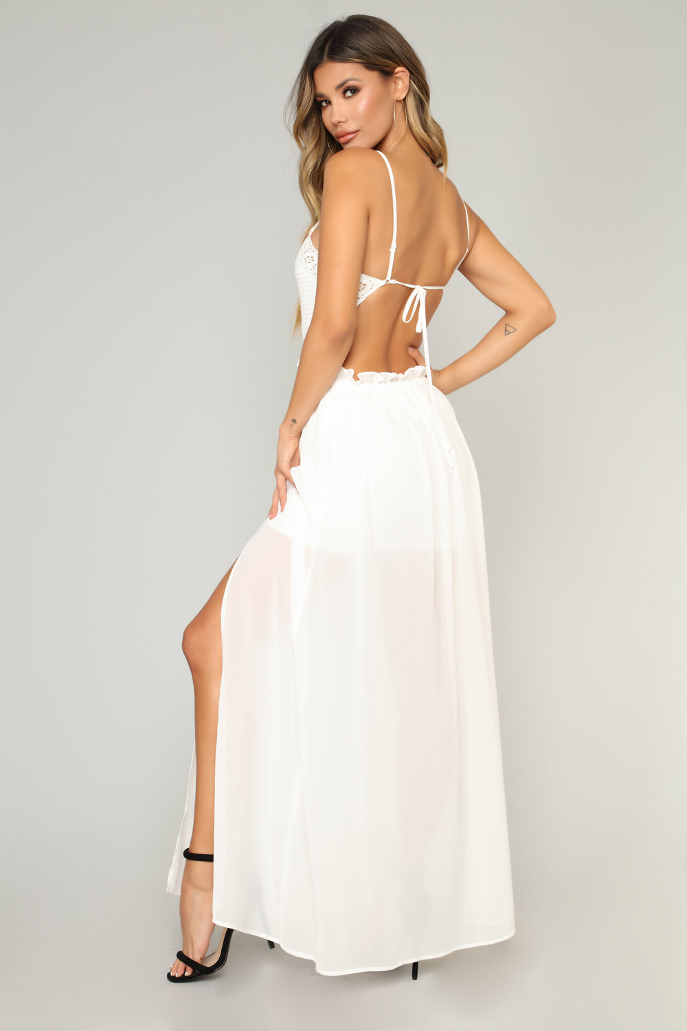 Sounds Of Summer Maxi Dress - Off White