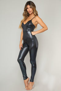One Of A Kind Babe Jumpsuit - Black