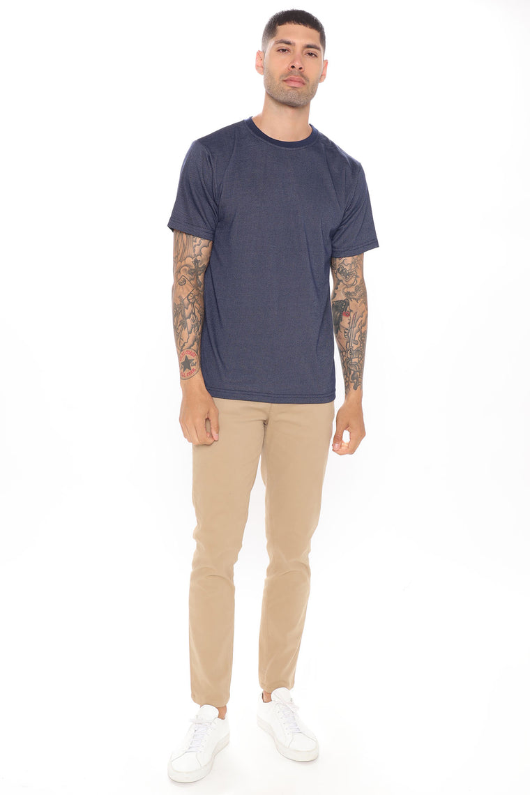 Chase Classic Short Sleeve Tee - Navy