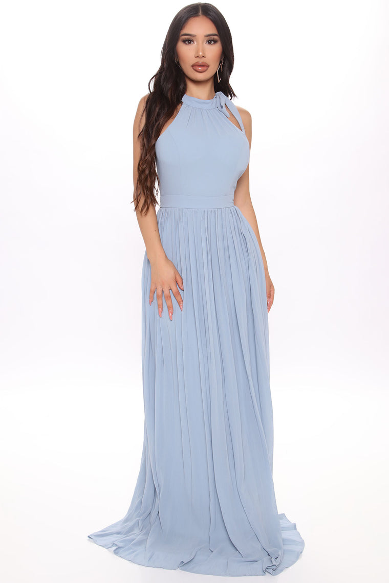 Dance With Me Maxi Dress - Blue
