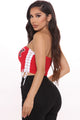 Team Baby Tube Top - Red
