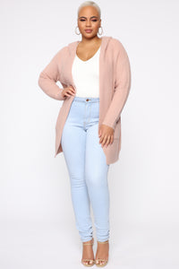 Catch My Vibes Cardigan - Pink