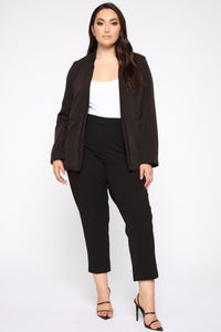 Ready For It All Blazer - Black Angle 2