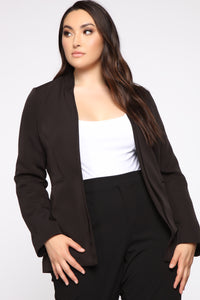 Ready For It All Blazer - Black Angle 1