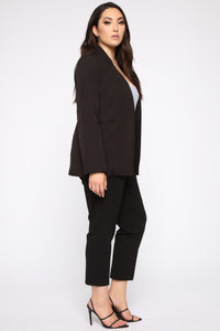 Ready For It All Blazer - Black Angle 3
