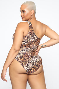 Steppin' Out Swimsuit - Leopard