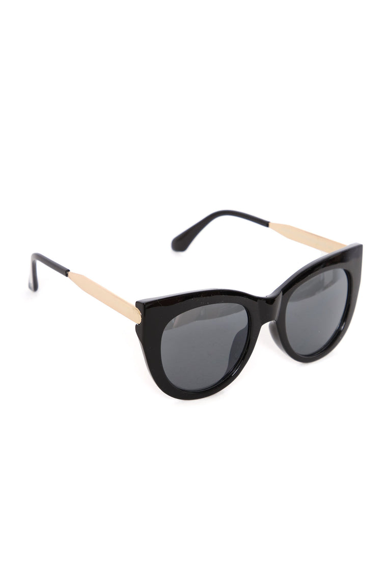 Not Available Oversized Sunglasses - Black