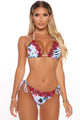 Brunch On The Beach 2 Piece Bikini - Red/combo