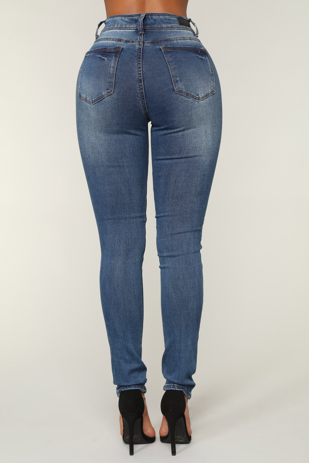 Middle of the Dance Floor Skinny Jeans - Medium Blue Wash