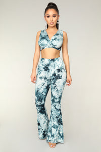 Hang Loose Tie Dye Set - Teal
