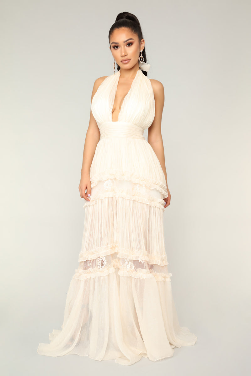 Sweet Symphony Dress - Ivory
