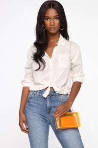 Such A Brat Box Clutch - Orange