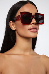 Your Go To Sunglasses - Red Angle 1