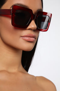 Your Go To Sunglasses - Red Angle 2