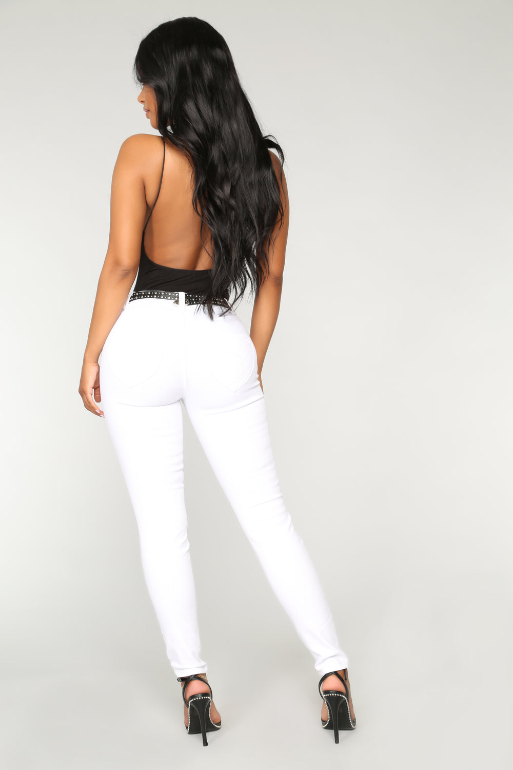 Weekend Getaway High Rise Jeans - White