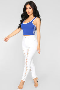 Sporty Girl Tank Top - Royal