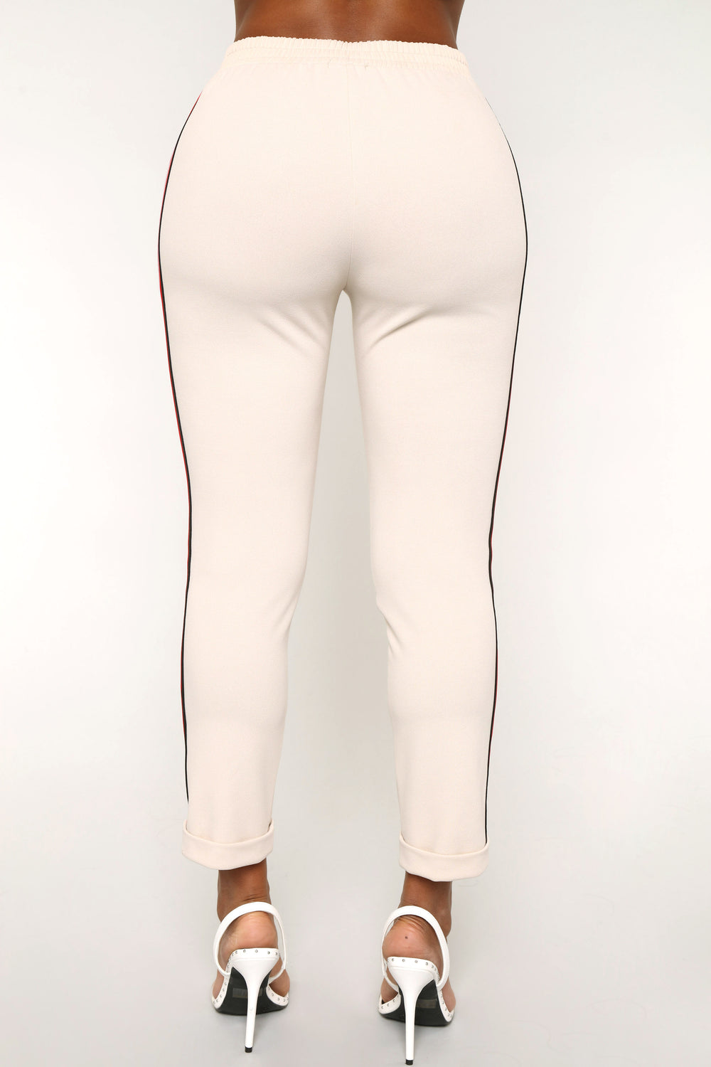 Chicest Of Them All Pants - Taupe