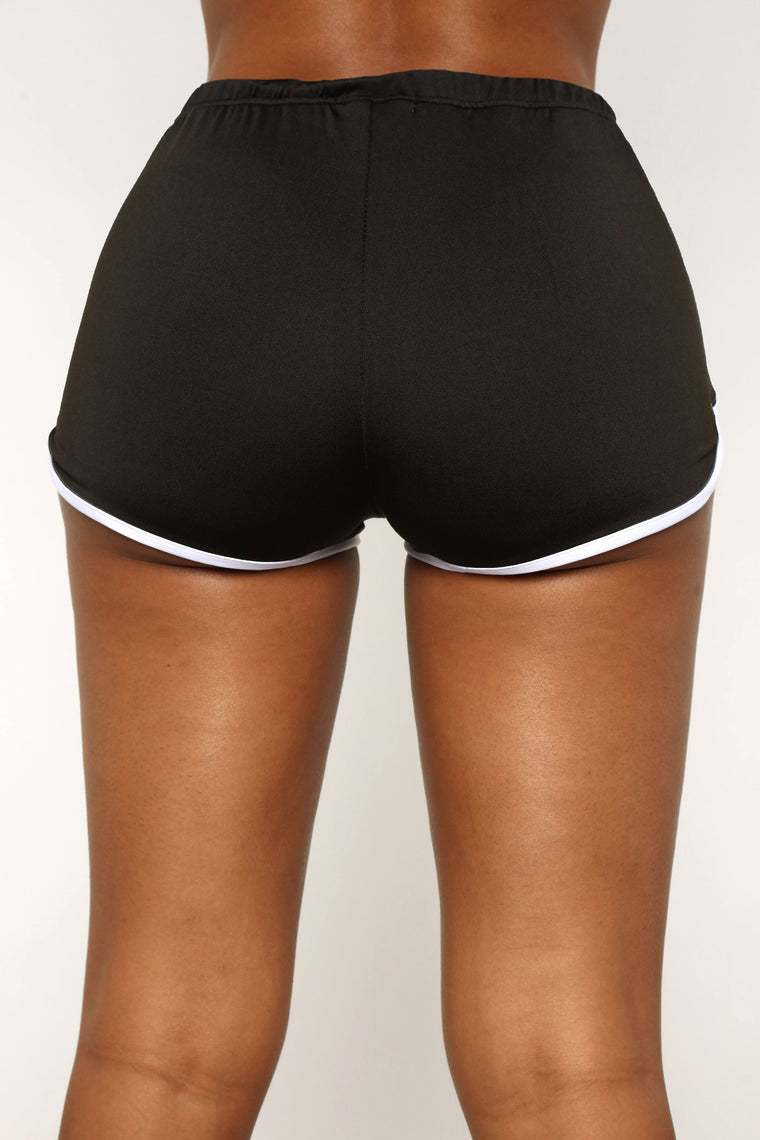 Right Kind Of Love Shorts - Black