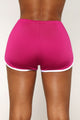 Right Kind Of Love Shorts - Magenta