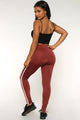 Not Your Average Active Leggings - Rose