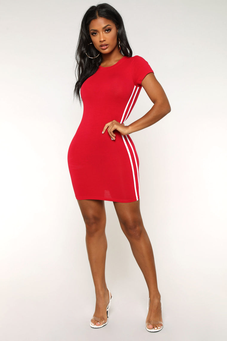 Fun And Games Dress - Red
