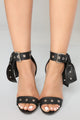 Grommet Your Needs Heels - Black