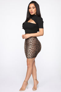 Amigas Cheetahs Mini Skirt - Animal Angle 4