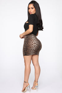Amigas Cheetahs Mini Skirt - Animal Angle 6