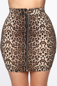 Amigas Cheetahs Mini Skirt - Animal Angle 1