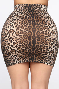 Amigas Cheetahs Mini Skirt - Animal Angle 5