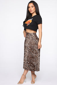 Metallica Crop Top - Black