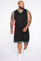 Butler Remix Tank Top - Black/combo