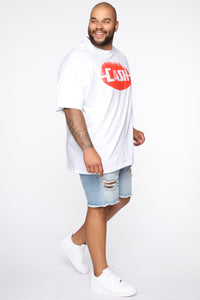 Cash Short Sleeve Tee - White/combo