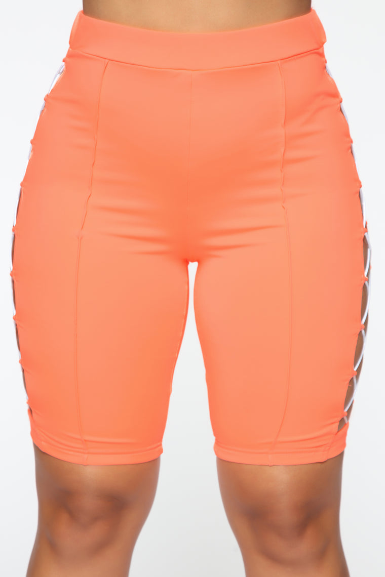Race You Active Set - Neon Coral