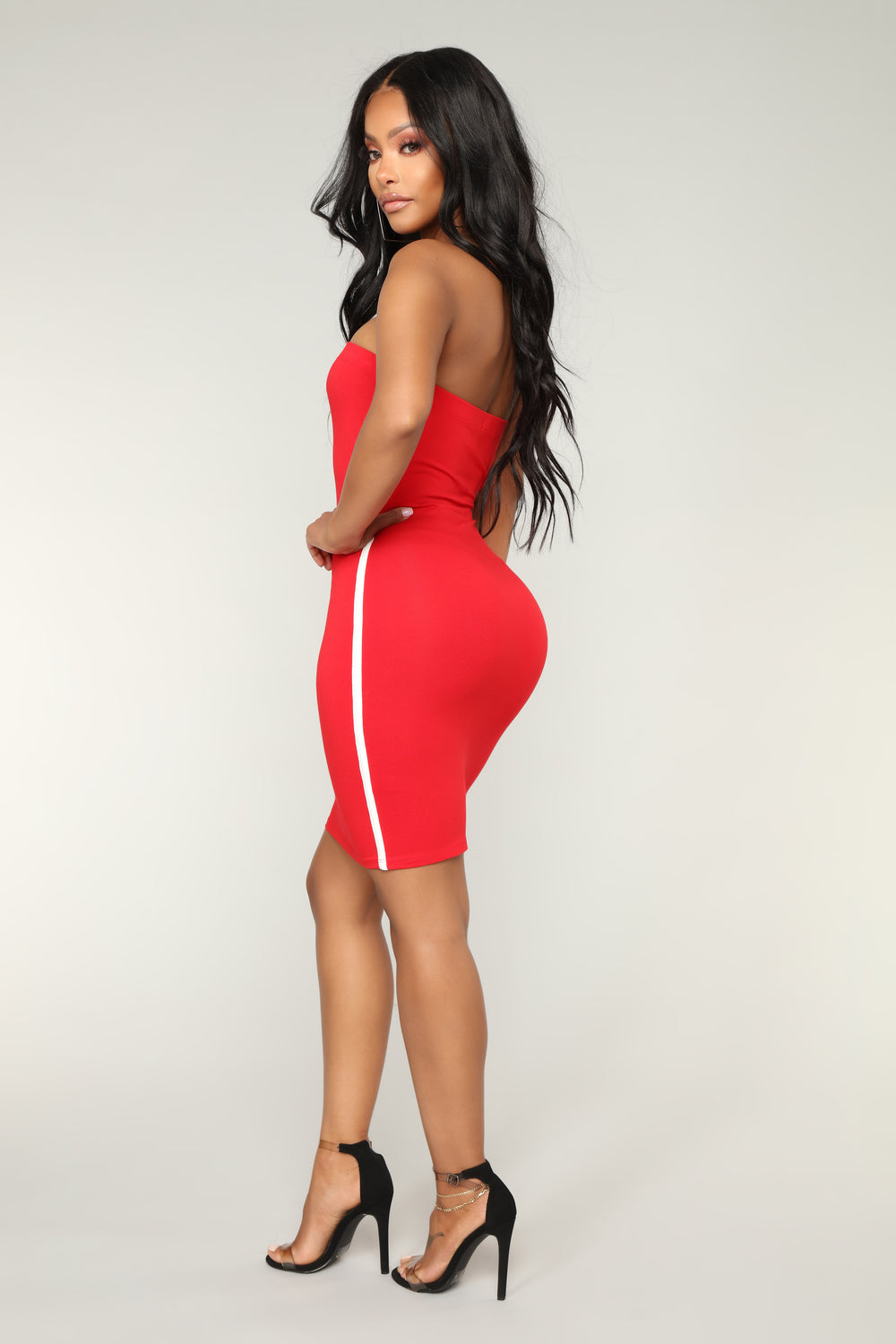 Like A Champ Dress - Red