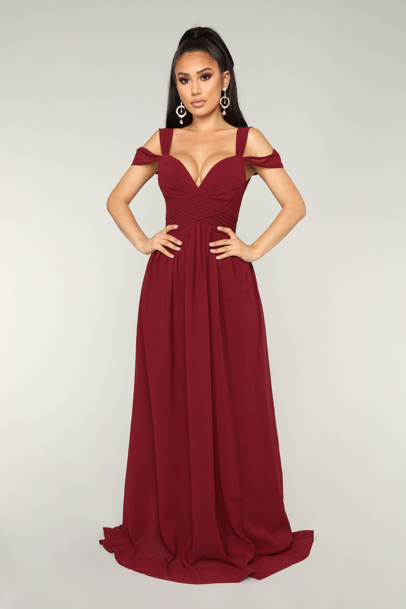 Honorable Intentions Dress - Wine