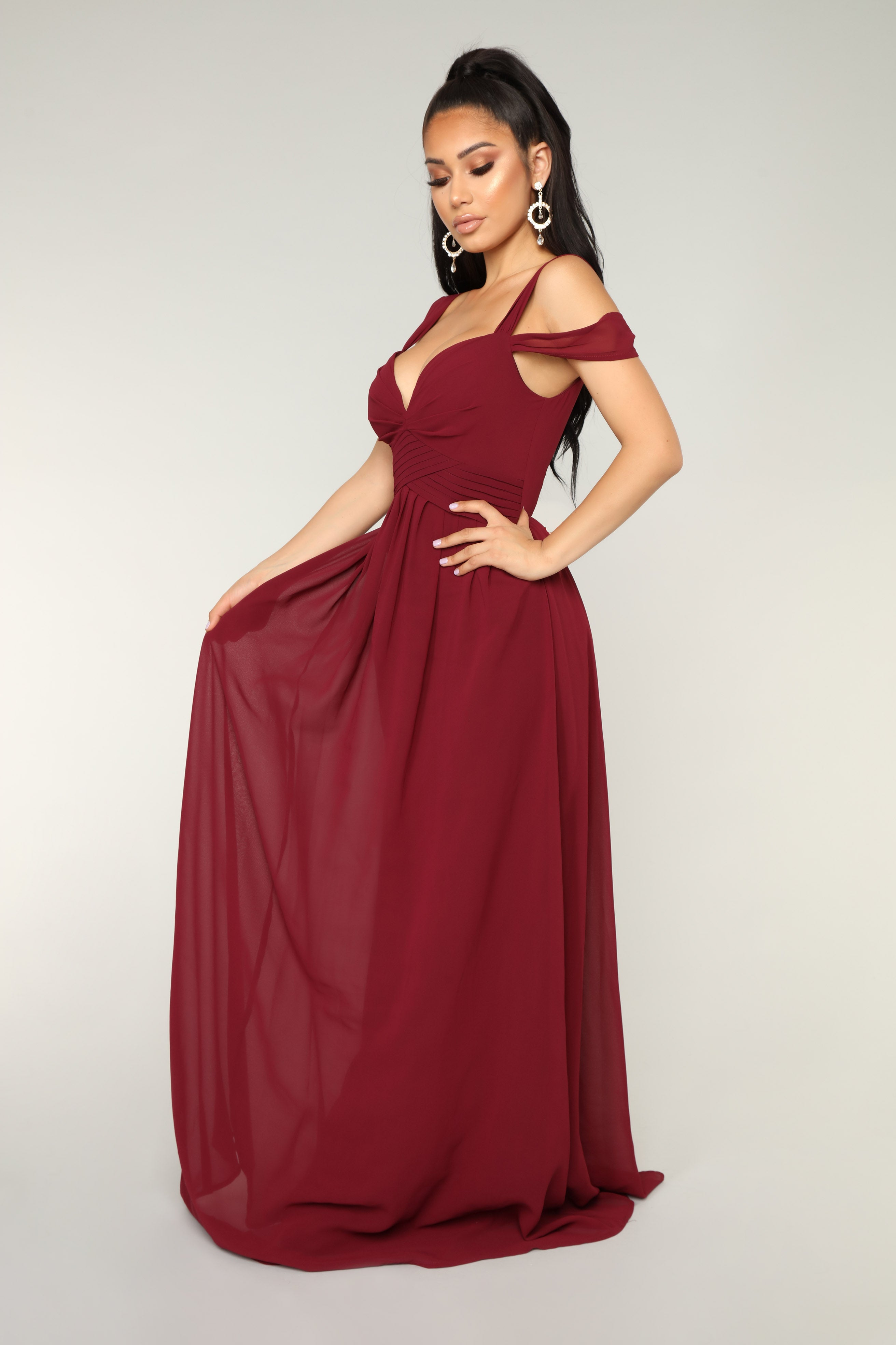0d8b9580b06 Honorable Intentions Dress - Wine