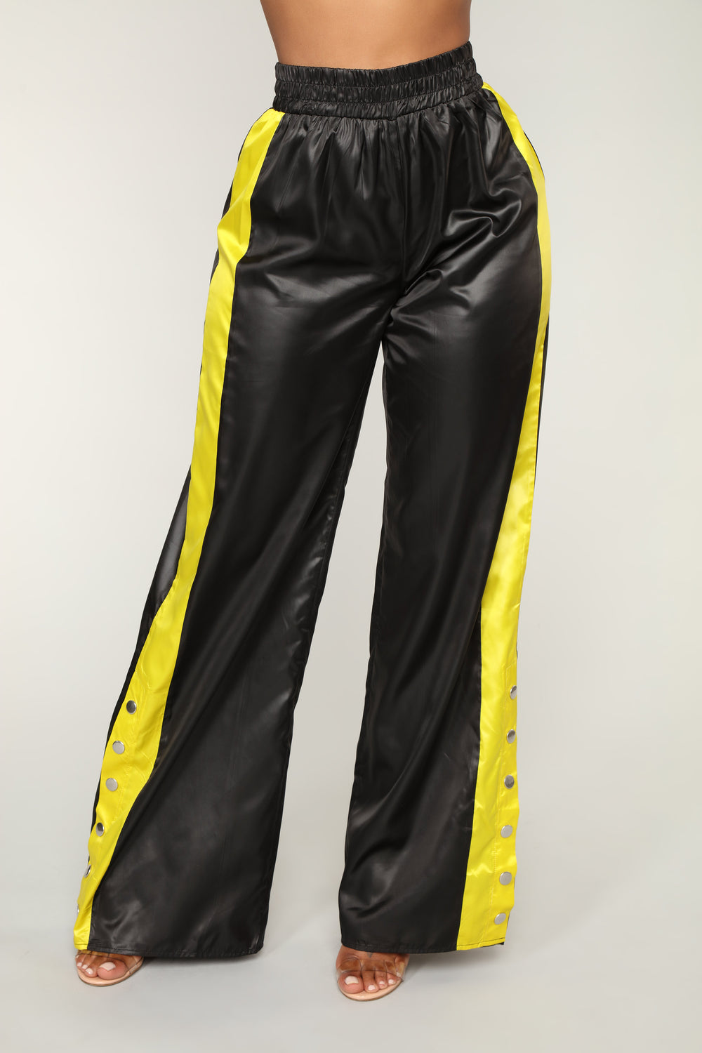 Best In The Game Snap Pants - Black/Yellow