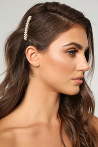 Get Over Hair Clip - Gold